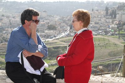 Jan 15 -- Our Last Day! Jeff and Emily Cavins Holy Land Pilgrimages and Media