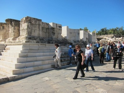 Jan 10 -- Mt. Tabor and Bet Shean Jeff and Emily Cavins Holy Land Pilgrimages and Media