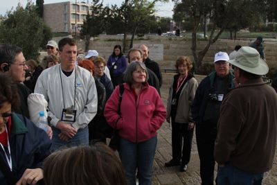 Jan 12 -- Mount of Olives & Museum Jeff and Emily Cavins Holy Land Pilgrimages and Media