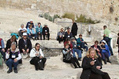 Jan 14 -- Via Dolorosa Jeff and Emily Cavins Holy Land Pilgrimages and Media