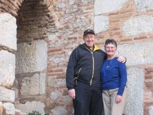 Greece Pilgrimage Day 4 Jeff and Emily Cavins Holy Land Pilgrimages and Media
