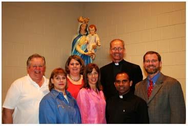 St. Elizabeth Ann Seton Core Team! Jeff and Emily Cavins Holy Land Pilgrimages and Media