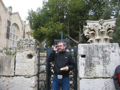 Jeff Teaching at Gethsemane