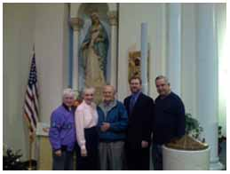"""Thank You """"All Saints Parish"""" In NE Minneapolis! Jeff and Emily Cavins Holy Land Pilgrimages and Media"""
