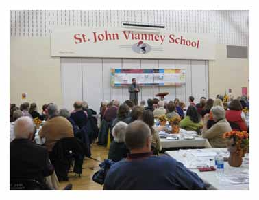 St. John Vianney In Janesville, Wisconsin! Jeff and Emily Cavins Holy Land Pilgrimages and Media