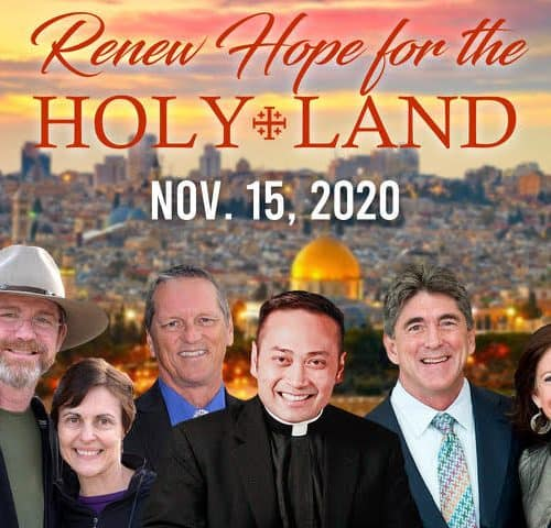 Announcements Jeff and Emily Cavins Holy Land Pilgrimages and Media